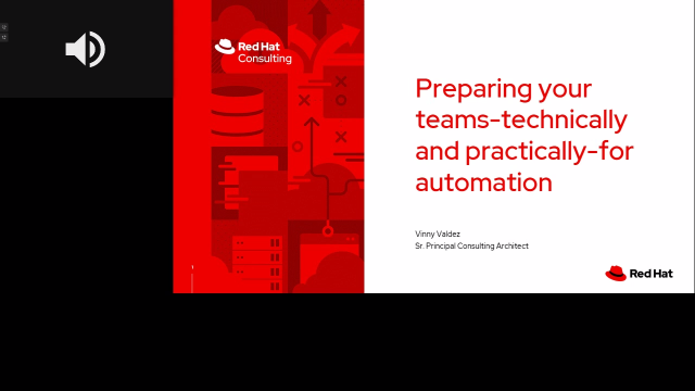 Preparing your teams - technically and practically for automation