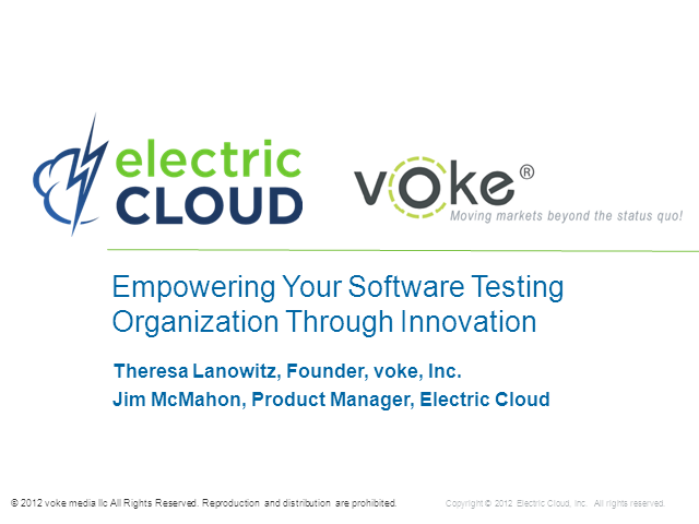 Empowering your Software Testing Organization with Innovation