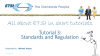 Tutorial 3: Standards and Regulation - Part 1: ESO and NSOs