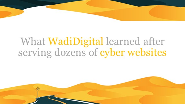 What WadiDigital learned serving SEO to dozens of cybersecurity companies