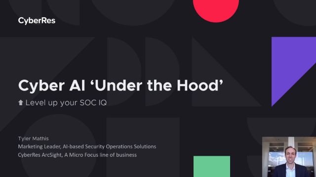 Cyber AI 'Under the Hood'