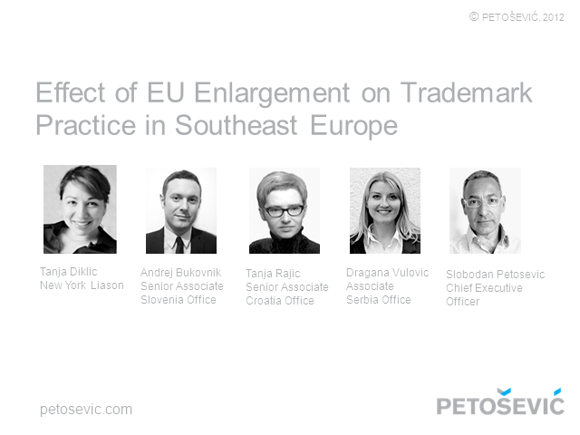 Effect of EU Enlargement on Trademark Practice in Southeast Europe