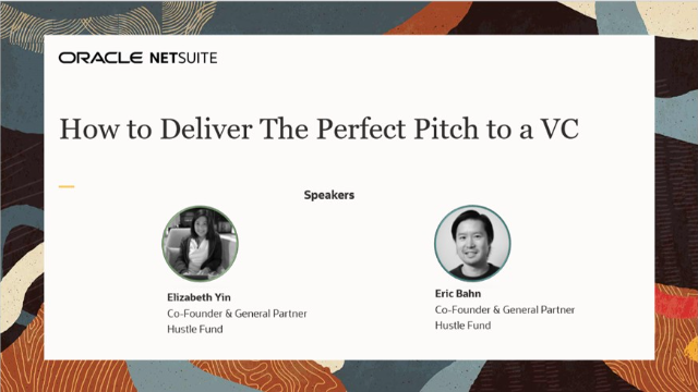How to Deliver The Perfect Pitch to a VC