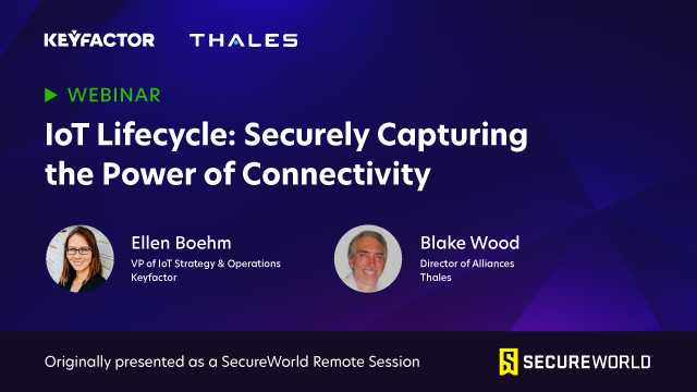 IoT Lifecycle: Securely Capturing the Power of Connectivity