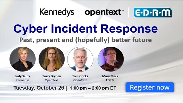 Cyber Incidence & Response- Past, Present & (Hopefully Better) Future