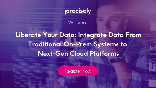 Liberate Your Data: Integrate Data From Traditional Systems to Cloud Platforms