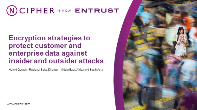 Encryption strategies to protect data against insider and outsider attacks