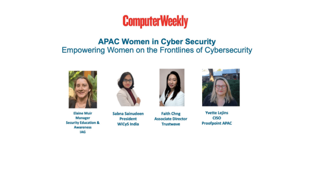 Empowering APAC women on the frontlines of cyber security