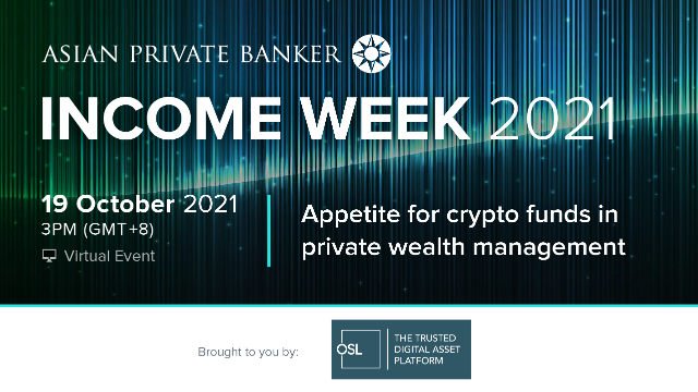 Appetite for crypto funds in private wealth management
