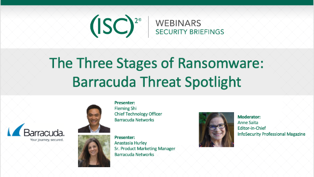 The Three Stages of Ransomware: Barracuda Threat Spotlight