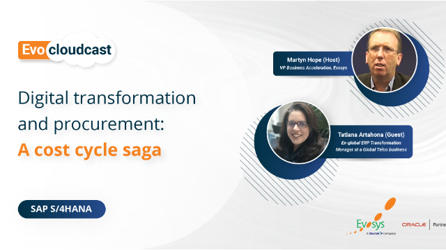 Ep-4 | Digital transformation and procurement : A cost cycle saga