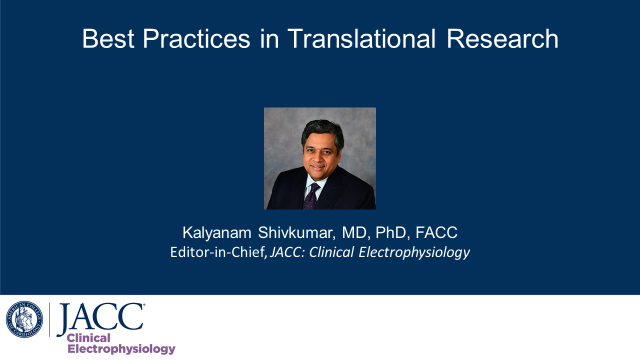 Best Practices in Translational Research