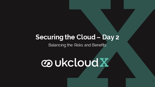 Securing the Cloud: Balancing risks and benefits