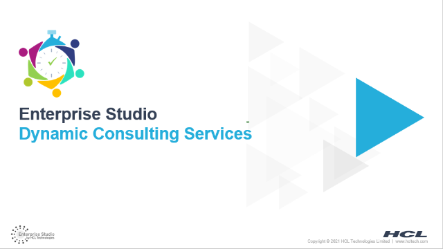 Dynamic Consulting Services (DCS) Catalogue