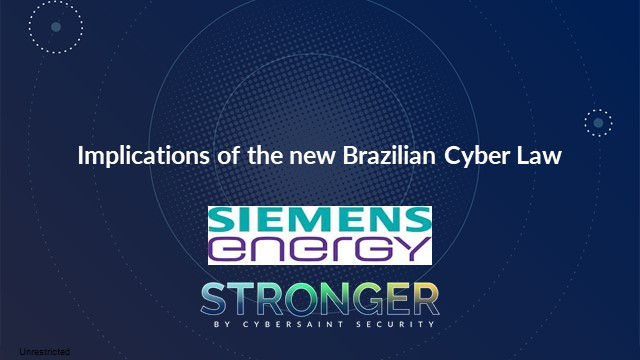 Implications of the New Brazilian Cyber Law