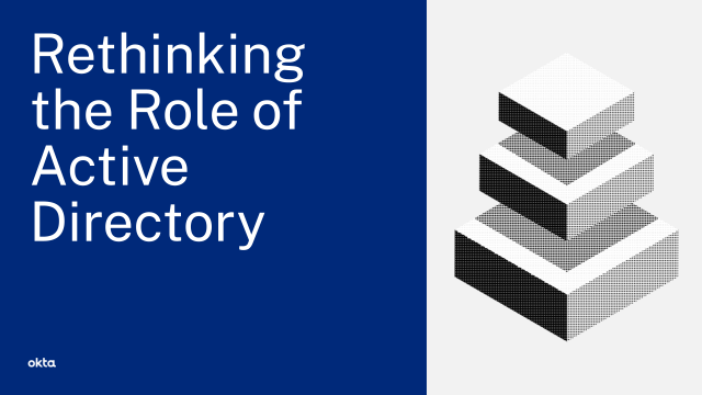 Rethinking the Role of Active Directory