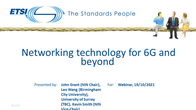 Networking technology for 6G and beyond