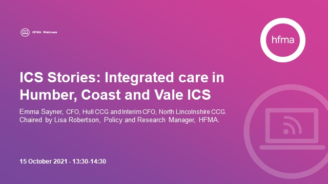 ICS stories: Integrated care in Humber, Coast and Vale ICS