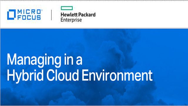 Simplify the complexity of Managing Hybrid Cloud Environment with Micro Focus