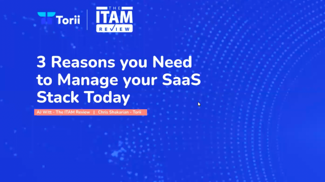 3 Reasons You Need To Manage Your SaaS Stack Today