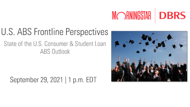 Frontline Perspectives Webinar: State of US Consumer & Student Loan ABS Outlook