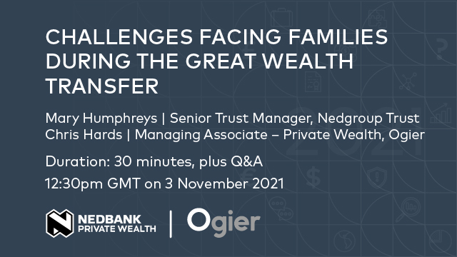 Challenges facing families during the great wealth transfer