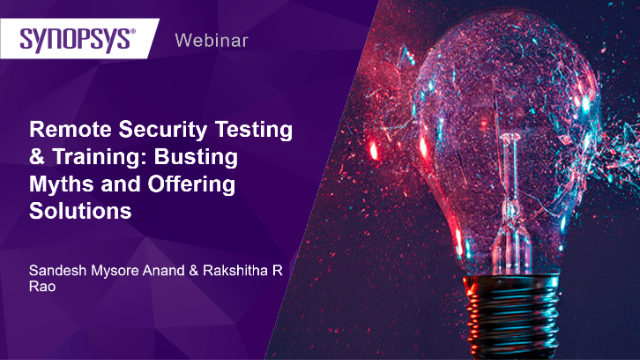 Remote Security Testing & Training: Busting Myths and Offering Solutions