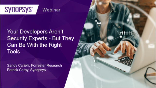 Your Developers Aren't Security Experts - But They Can Be With the Right Tools