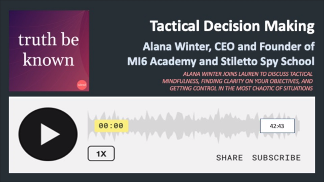 Podcast: Tactical Decision Making