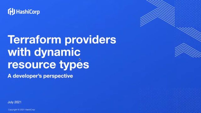 Building Terraform Providers with Dynamic Resource Types