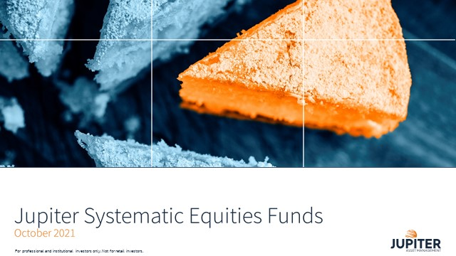 Systematic equities – Jupiter Global Equity Fund quarterly review