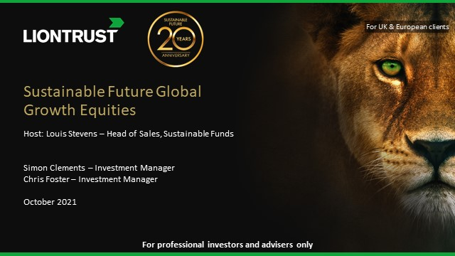 Liontrust Sustainable Future Global Growth Equities Strategy Update