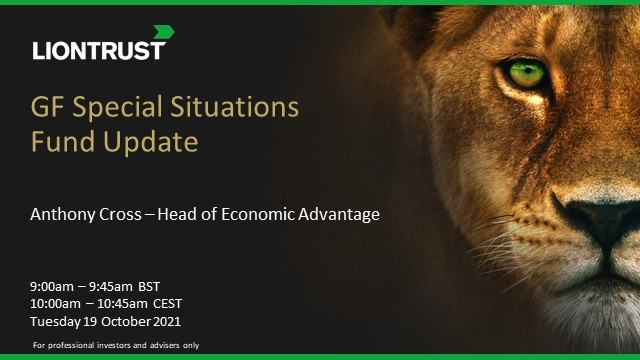 Liontrust GF Special Situations Fund Update