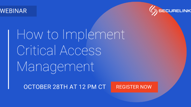 How to Implement Critical Access Management