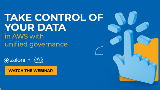 Take control of your data in AWS with unified data governance