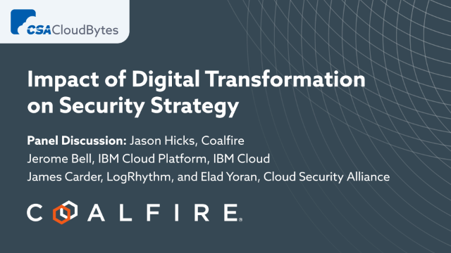 Impact of Digital Transformation on Security Strategy