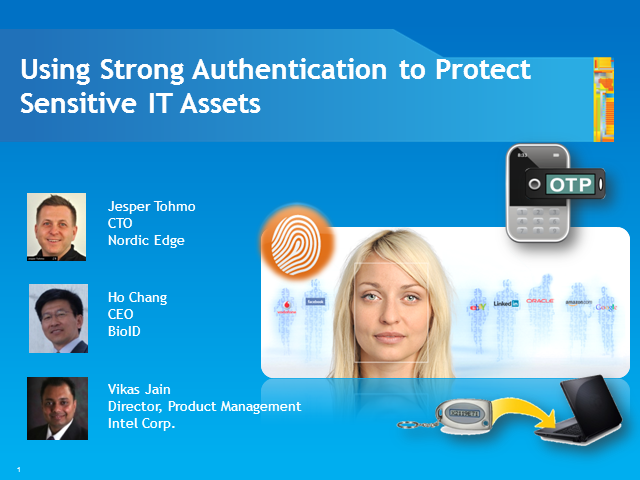 Using Strong Authentication to Protect Sensitive IT Assets in the Cloud
