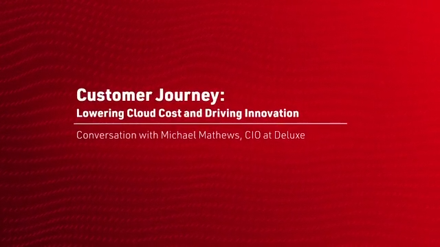 Customer Journey: Lowering Cloud Cost and Driving Innovation