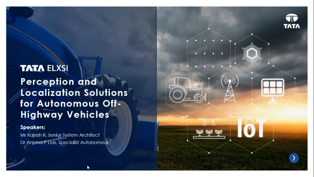 [Webinar] Perception and localization of autonomous off-highway vehicles