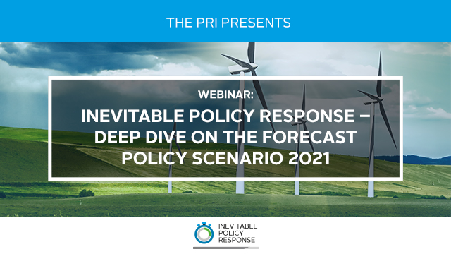 Inevitable Policy Response: deep dive on the Forecast Policy Scenario 2021 - US