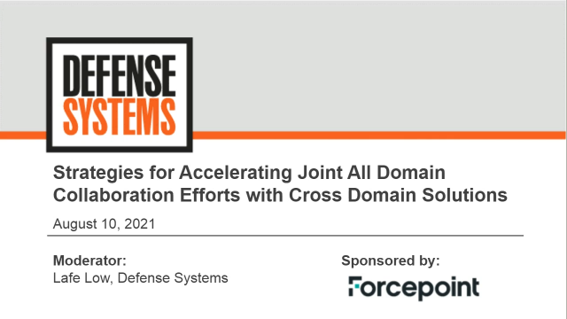 Accelerate Multi-Domain Collaboration Efforts with Cross Domain Solutions