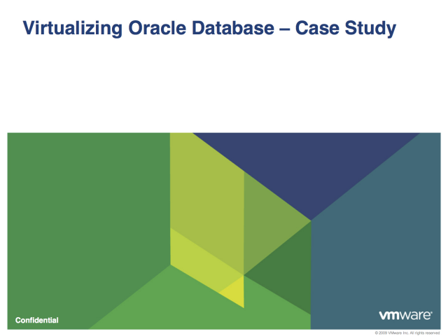 Oracle dba case studies