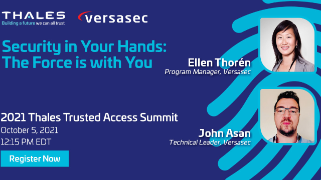 Security in Your Hands: May the Force Be With You