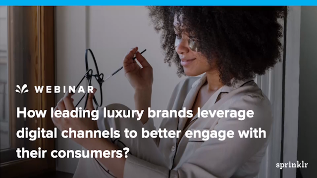 How luxury brands leverage digital channels to better engage