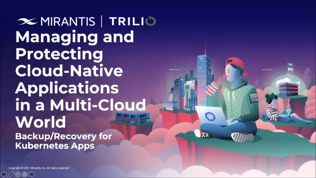 Managing and Protecting Cloud-Native Applications in a Multi-Cloud World