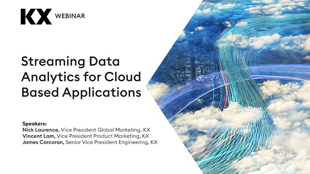 Streaming Data Analytics for Cloud Based Applications