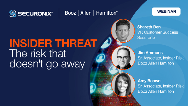 Insider Threat - the risk that doesn't go away
