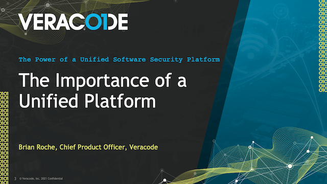 The Importance of a Unified Platform