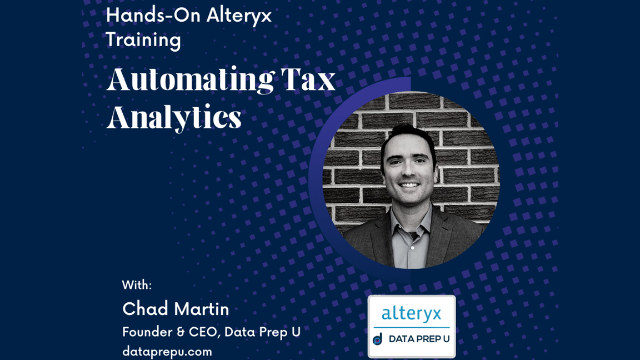 Automating Tax Analytics - Hands-on Training