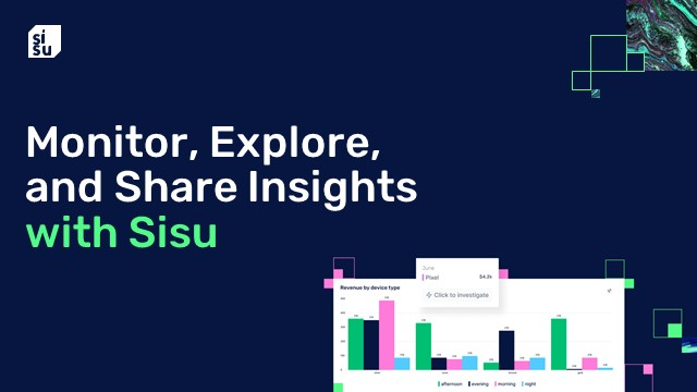 Exploring, analyzing, and sharing data at cloud scale